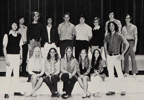 kelsey grammer back row 3rd from left on his high school debate