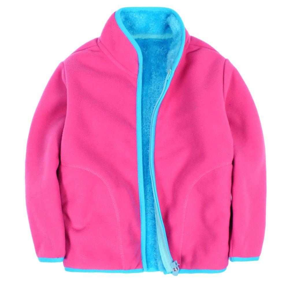 Nice New 2017 children polar fleece cardigan sweatshirt children ...