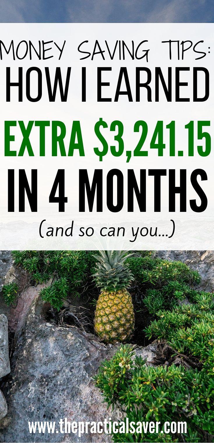 Strategien zum Geldsparen: Wie ich in 4 Monaten 3.241,15 USD verdient habe