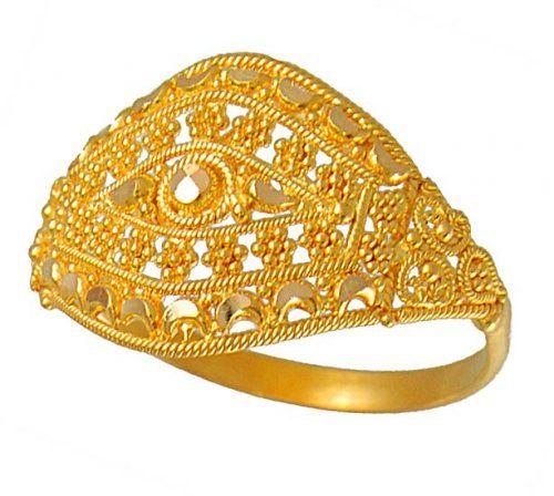 00e57e6a423fc Pakistani gold ring | Pakistani bridal collection in 2019 | Gold ...