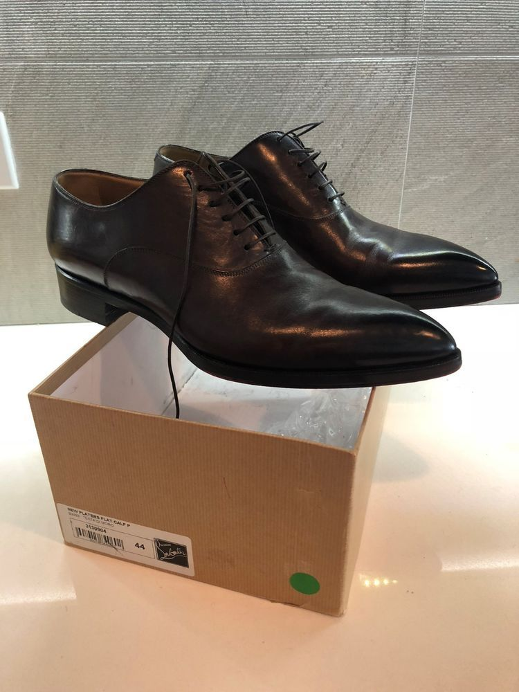 new arrival e7ebe cd038 christian louboutin men's shoes 44 New Platers Flat #fashion ...