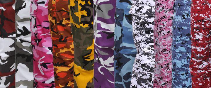 0b138009d Rothco's Color Camo Tactical BDU Pants | Colorful Camo | Camo pants ...