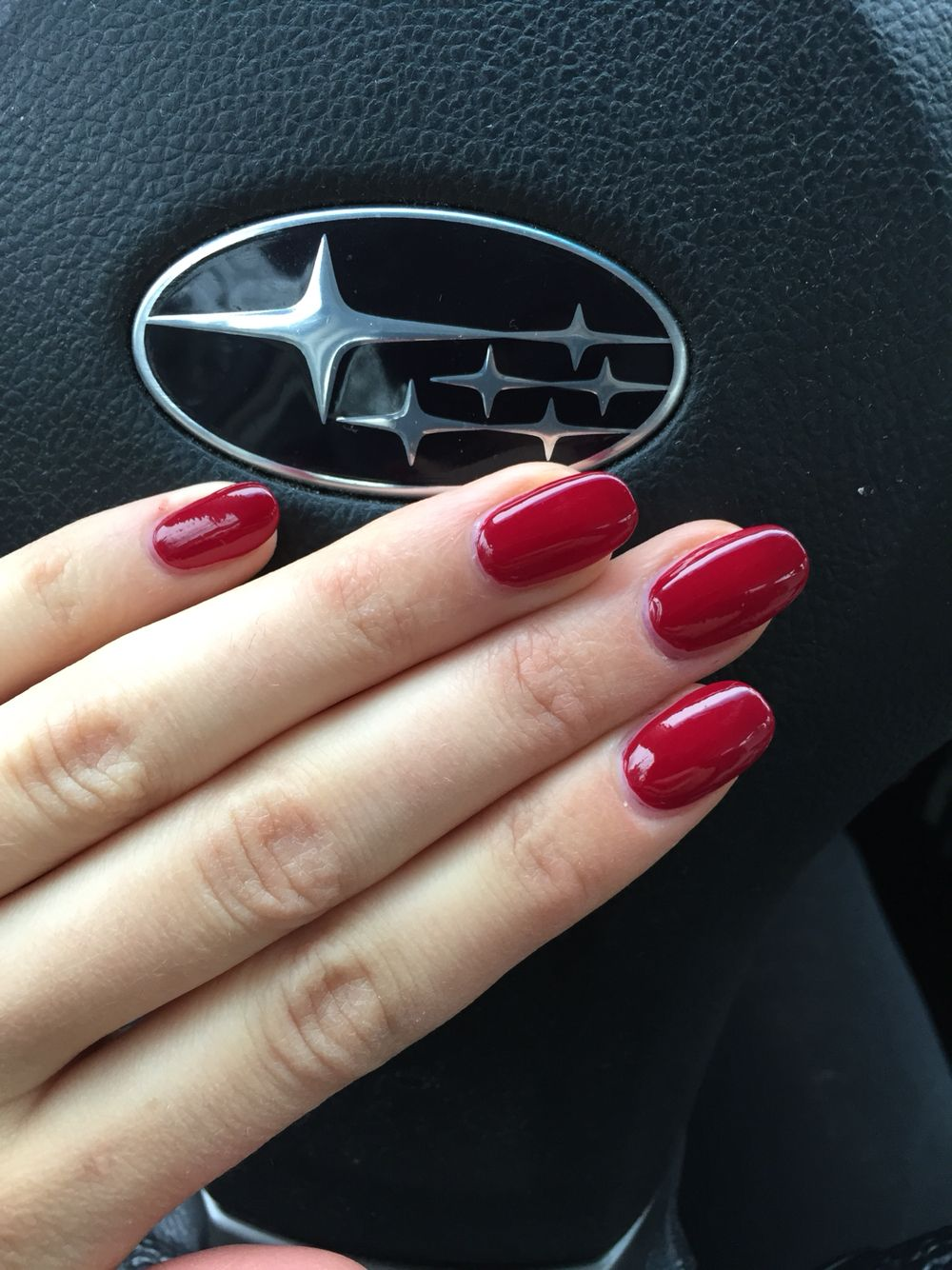 Round (acrylic) nails! I think I\'m gonna give them a try! | Nails ...
