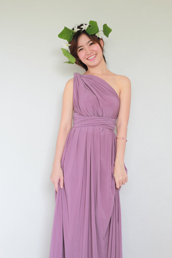 Plus Size Twilight Violet Infinity Dress Bridesmaid Dress Prom Dress ...