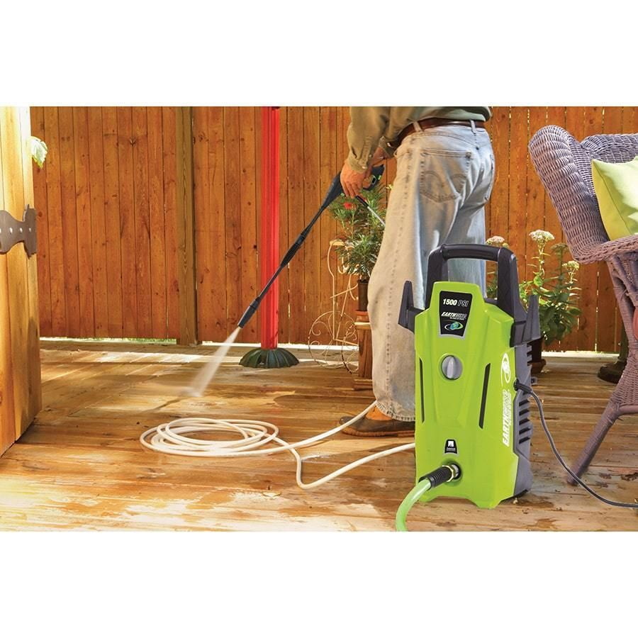 pressure washer electric water home cleaning car patio deck 1500