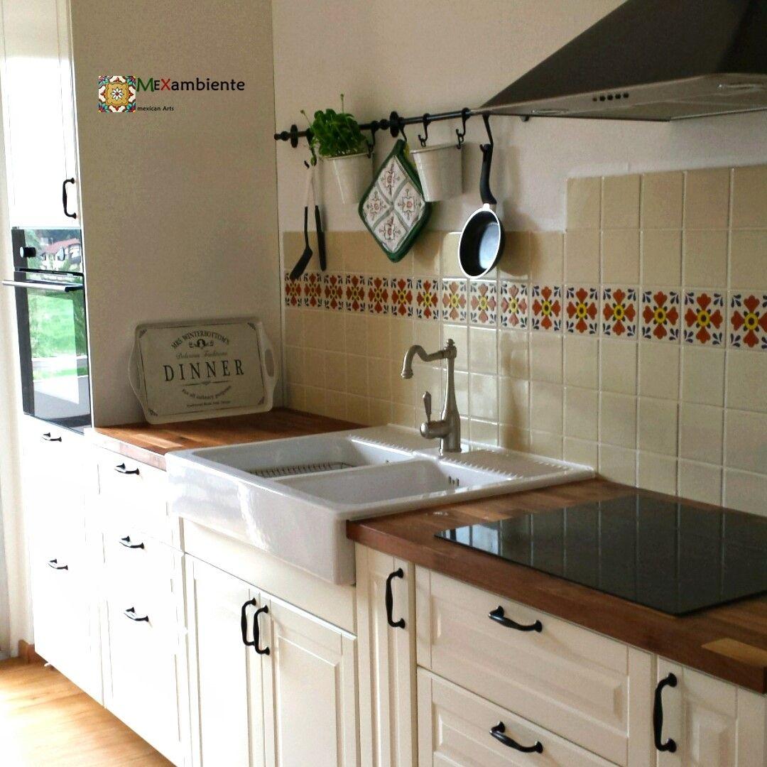 Landhaus Fliesen Küche - Fliesen in küche überkleben