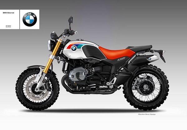 BMW R 1200 GARMISCH on Behance