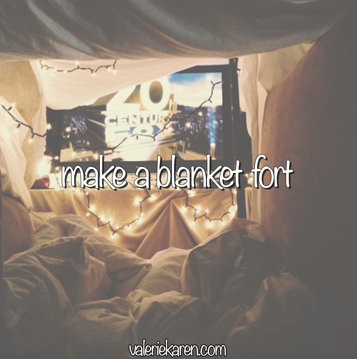 best unique 2018 summer bucket list ideas - - make a blanket fort! this is a fun & simple activity, perfect for relaxing summer days! #summerbucketlists