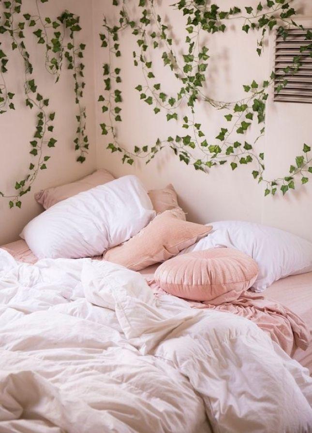 fake ivy vines   Aesthetic rooms, Room inspiration ... on Vine Decor Ideas  id=55162