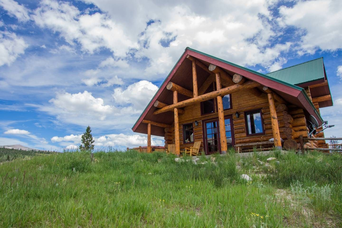 Log Cabin With Mountain Views Houses For Rent In Fairplay Colorado United States Cabin Colorado Cabins Renting A House