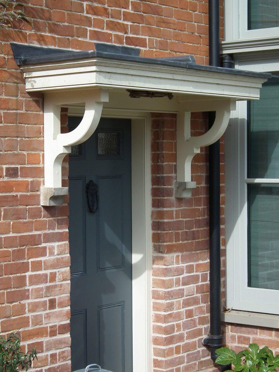 Wood Canopy Over Front Door