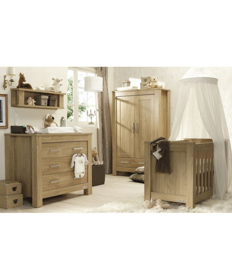 Tutti Bambini Milan Shelf with Walnut Finish