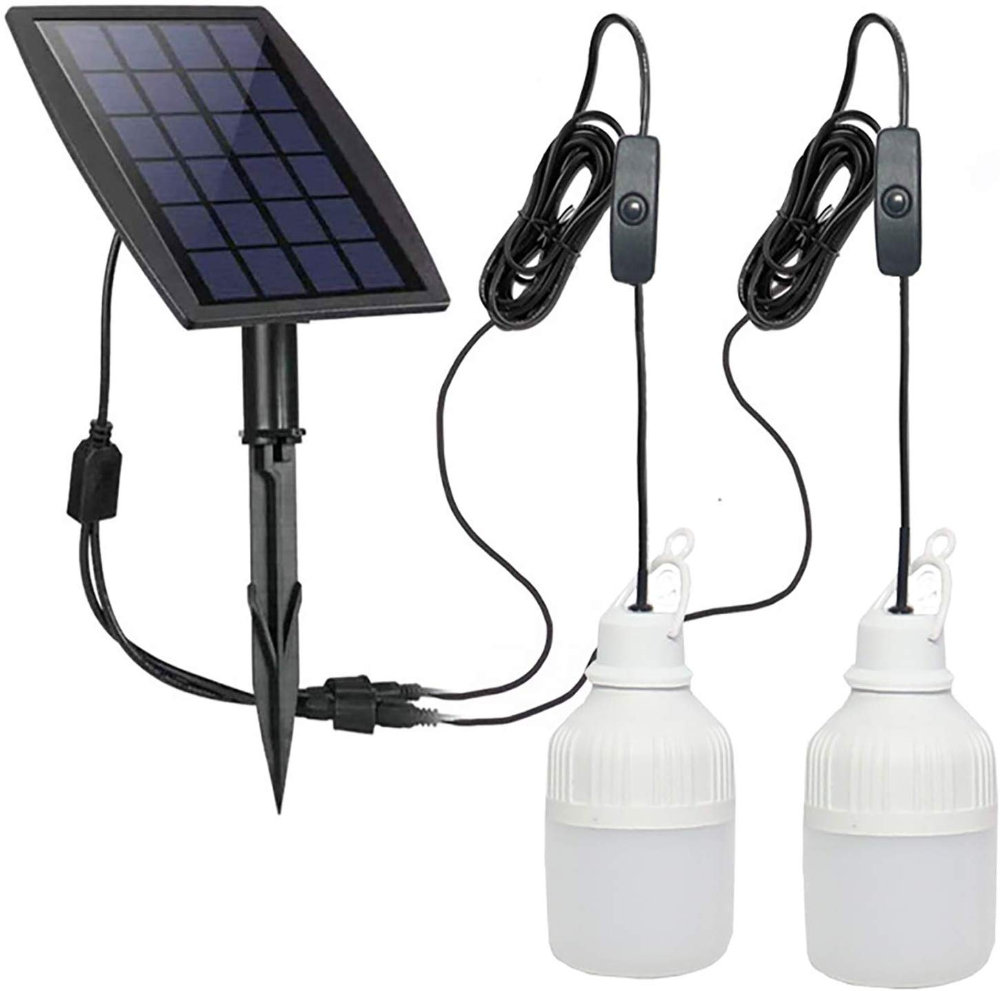 Amazonsmile Feifeier Indoor Solar Light Led Bulb Portable 200lm Solar Shed Light Solar Energy Lamp Lighting For Home Fis Solar Shed Light Indoor Solar Lights