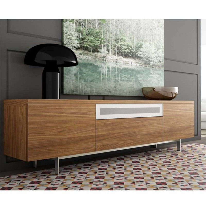 soldes buffet atylia achat buffet en noyer design adam atylia prix soldes atylia 784 93 ttc. Black Bedroom Furniture Sets. Home Design Ideas