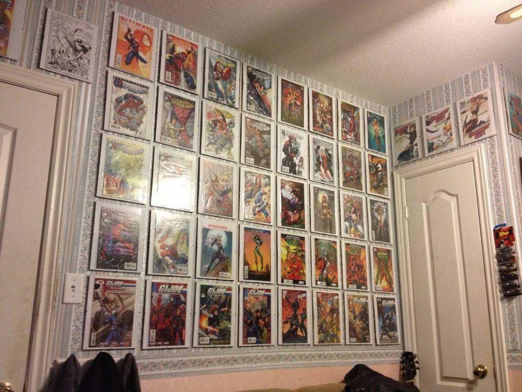 Comic Book Themed Bathroom