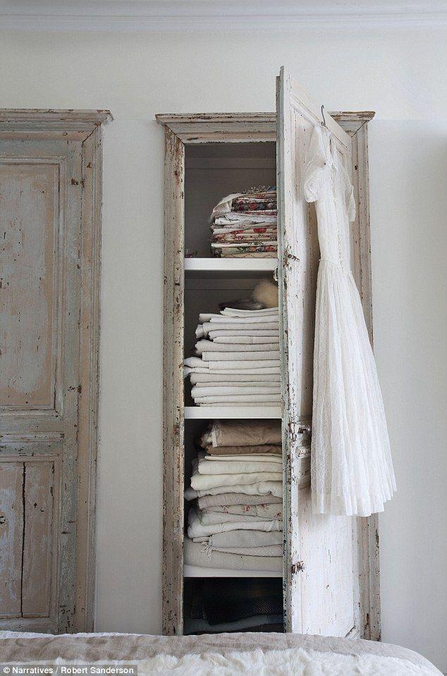 Los armarios de antes.