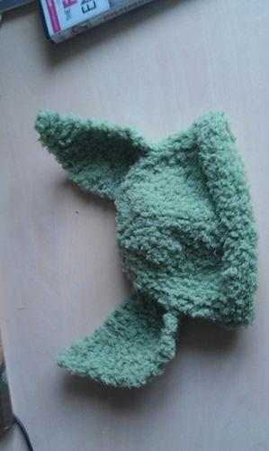 Yoda hat free pattern   Baby hat patterns, Baby knitting ...