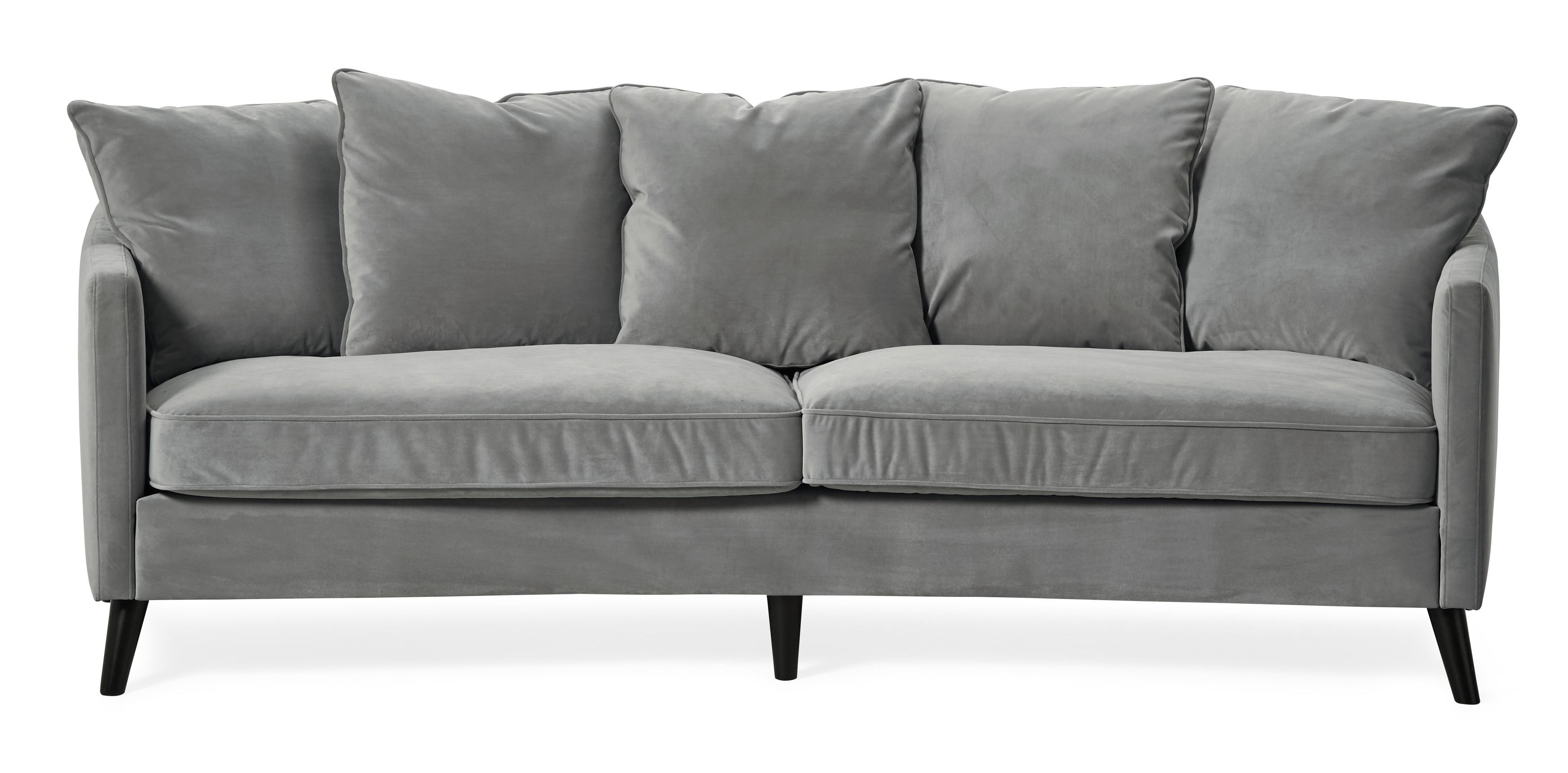 Ashton Sofa Oz Design Pigmented Leather Bildresultat För Gul Sammets Soffa Furniture Pinterest