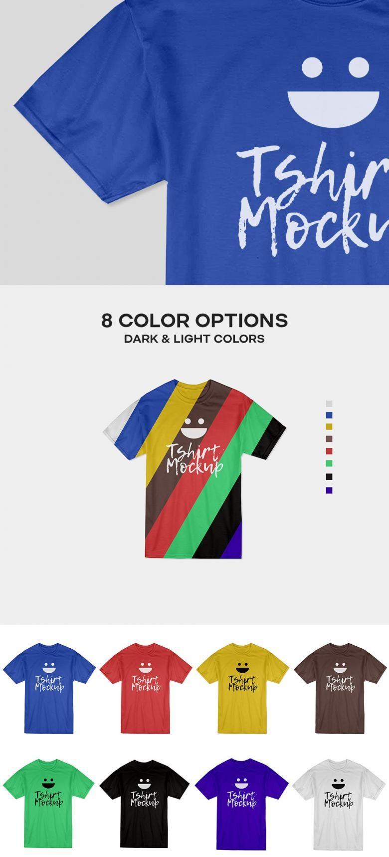 Download Free Cotton T Shirt Mockup Psd Shirt Mockup Tshirt Mockup Design Mockup Free