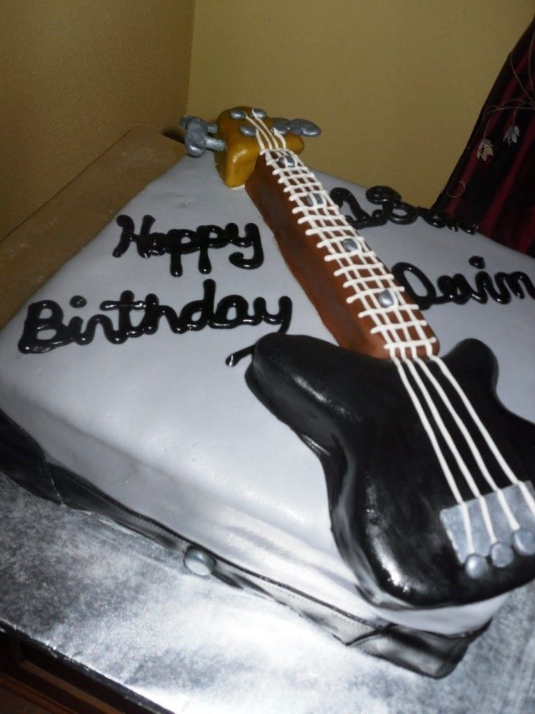 Guitar Cakes Designs Ideas Wilton Guitar Cake Pan Cake Ideas
