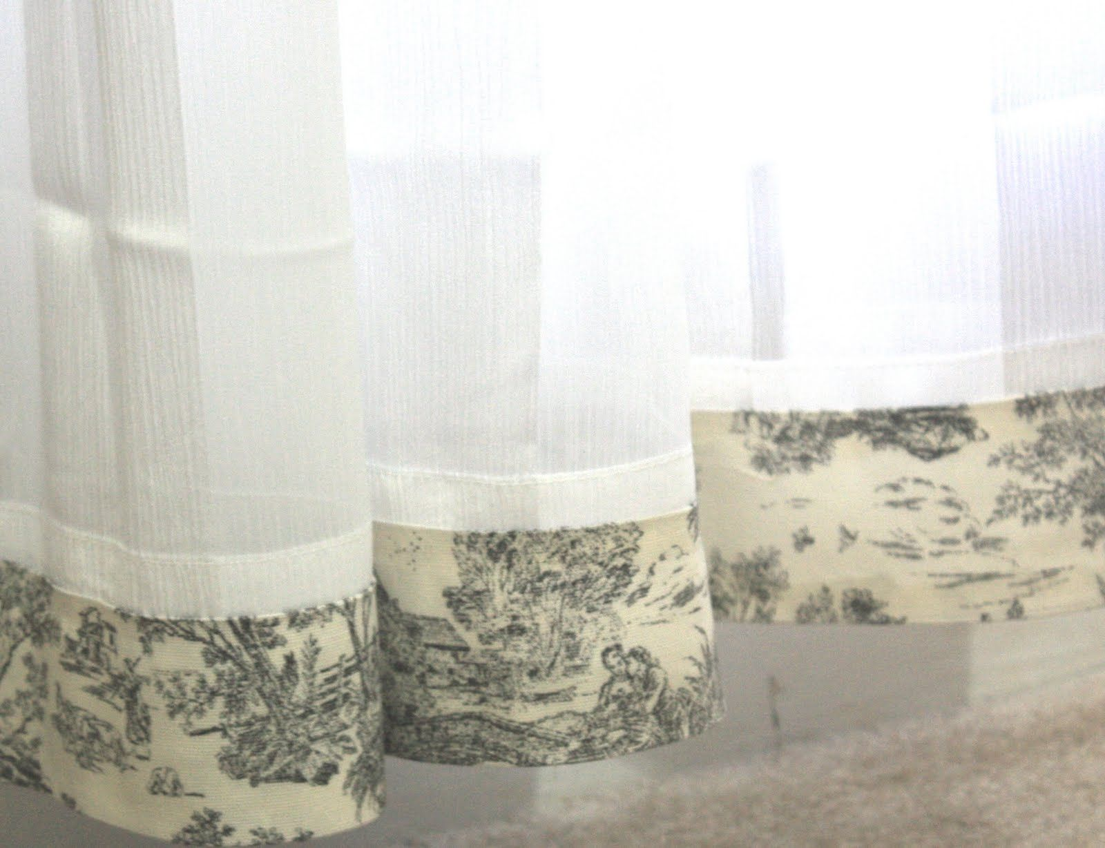 Homestead Black Toile Curtains