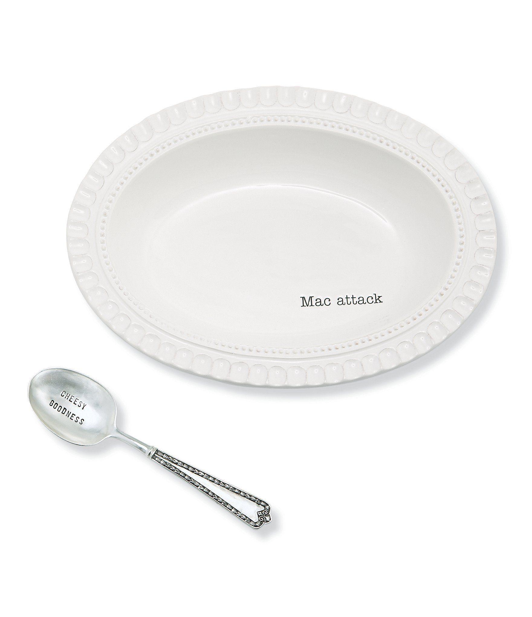 Dillards Wedding Gifts: Mud Pie Mac & Cheese Dish With Spoon