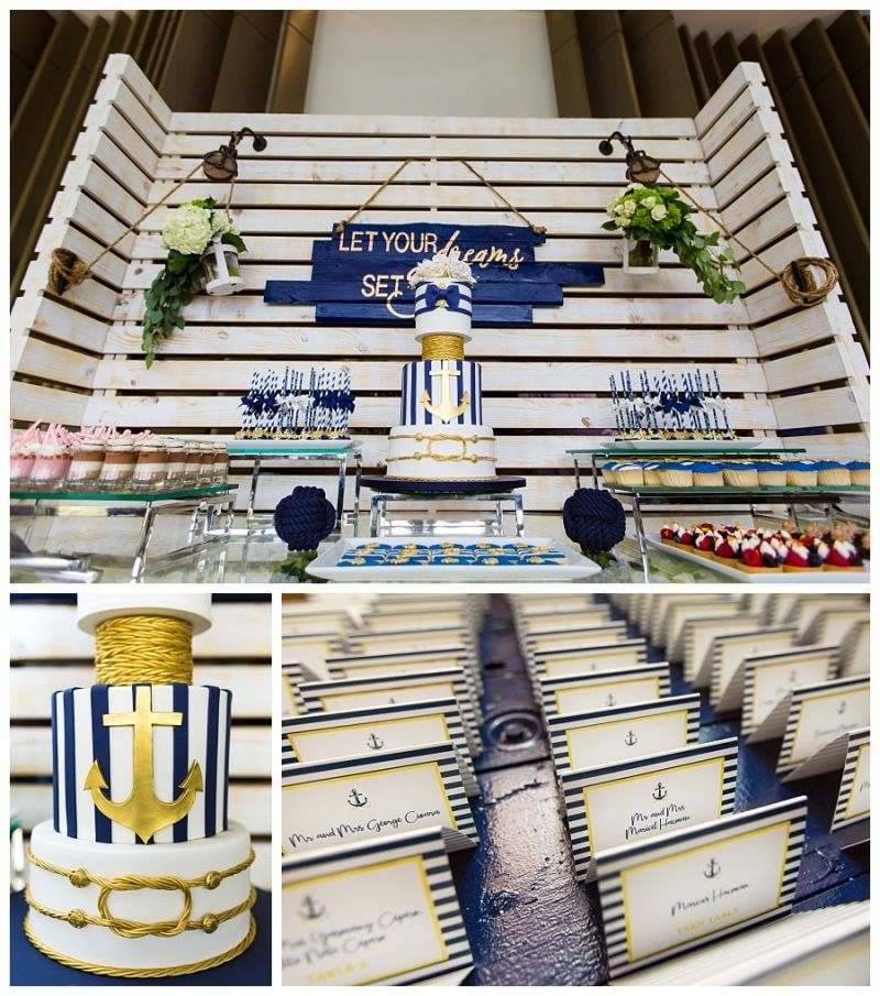 Let Your Dreams Set Sail Ivans Baptism Miami Custom Cakes