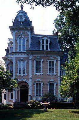 Mansard Second Empire Love It Victorian Homes Empire