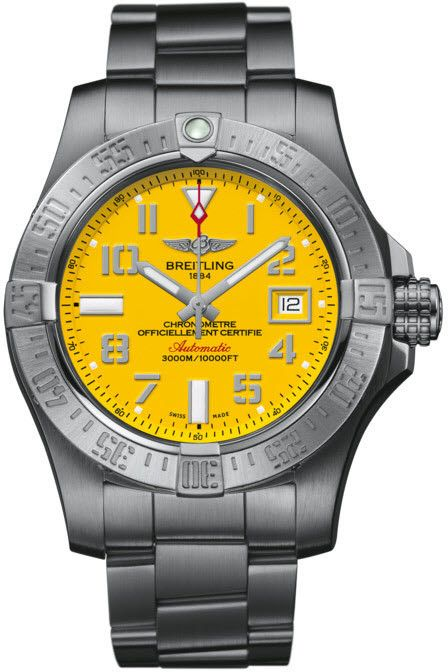 Breitling Watch Avenger II Seawolf http://bit.ly/1WqTUZ2 #bezel-unidirectional #bracelet-strap-steel #brand-breitling #case-depth-18-4mm #case-material-steel #case-width-45mm #cosc-yes #date-yes #delivery-timescale-call-us #dial-colour-yellow #gender-mens #luxury #movement-automatic #official-stockist-for-breitling-watches #packaging-breitling-watch-packaging #style-divers #subcat-avenger #supplier-model-no-a1733110-i519-169a #warranty-breitling-official-5-year-guarantee…