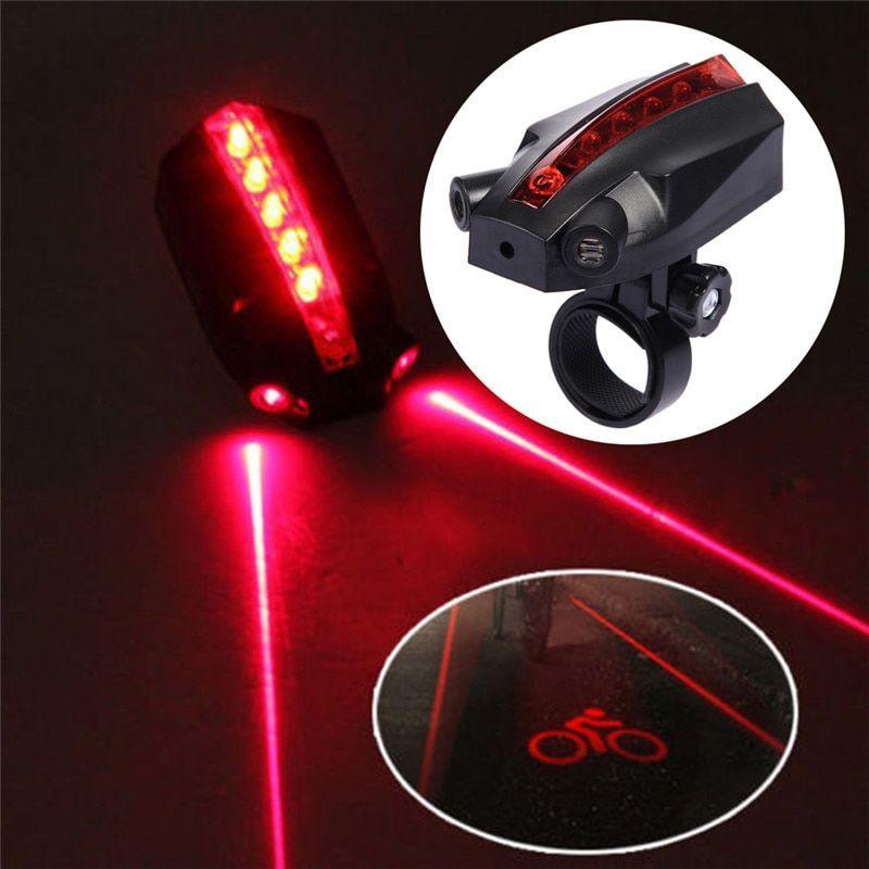 Rear Safety Flashlight wheel lights LED Lamp Bike Bicycle Front Head Light