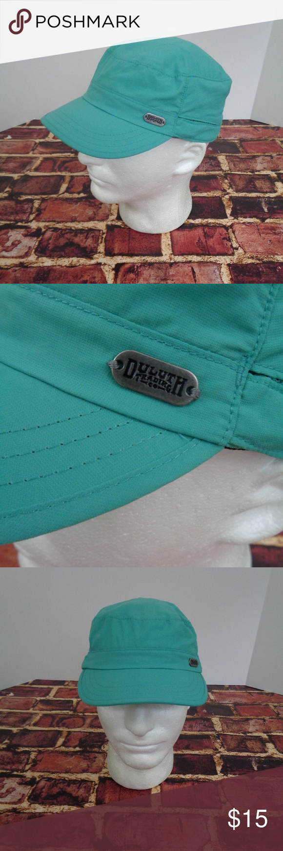 34af6136c57 Duluth Trading Co Green Cap Poly Cadet Mens S M This is a DULUTH TRADING