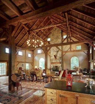 Greenwich Barn Home Rustic Spaces Other Metro Cottage