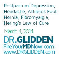 Youngevity, dr glidden, fire your md nowPostpartum Depression, Headache, Athletes Foot, Hernia, Fibromyalgia, Hering's Law of Cure, Bowen Technique, Insomnia, Breast Cancer, Vision