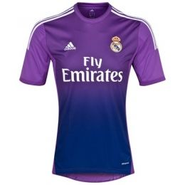 13 14 Real Madrid Goalkeeper Purple Soccer Jersey Shirt Camisas De Futebol Futebol Uniformes Futebol