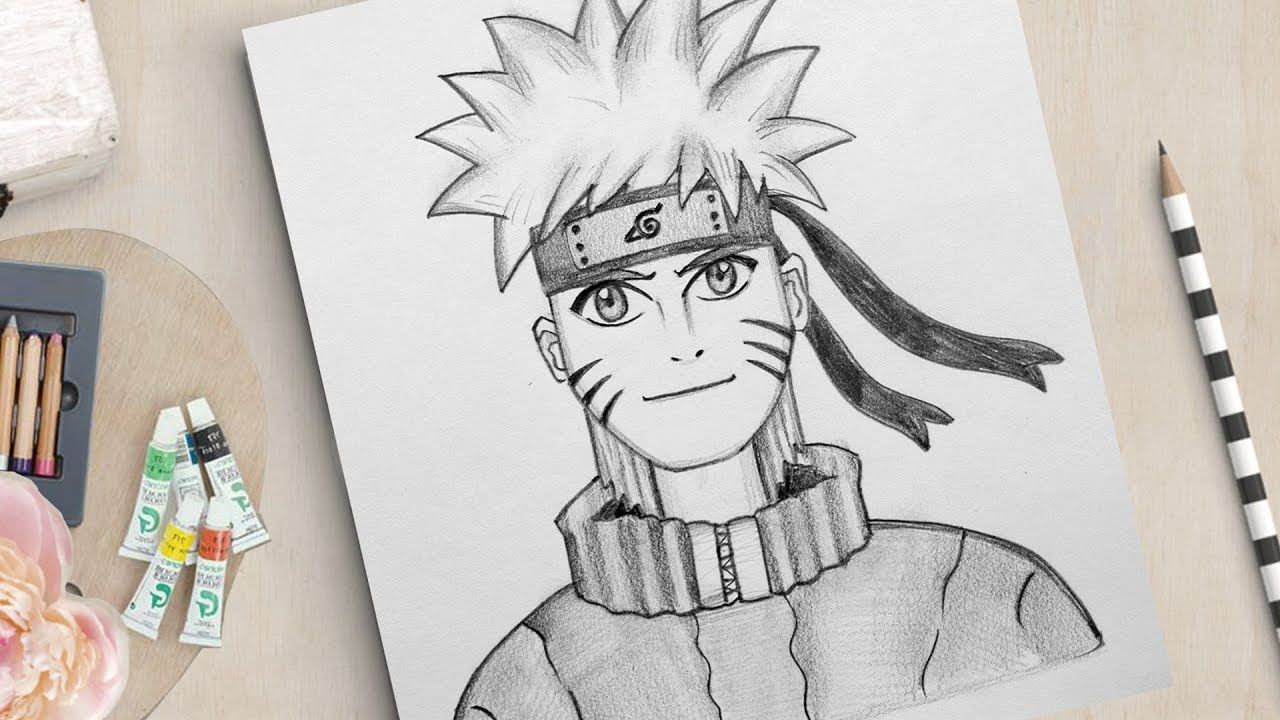 How To Draw Naruto Very Easy Naruto Drawing Easy Easy Drawings Naruto Drawings Naruto Drawings Easy