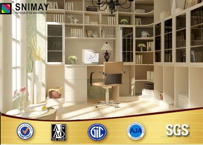 China estantes para libros por encargo de los muebles de - Biblioteca madera blanca ...