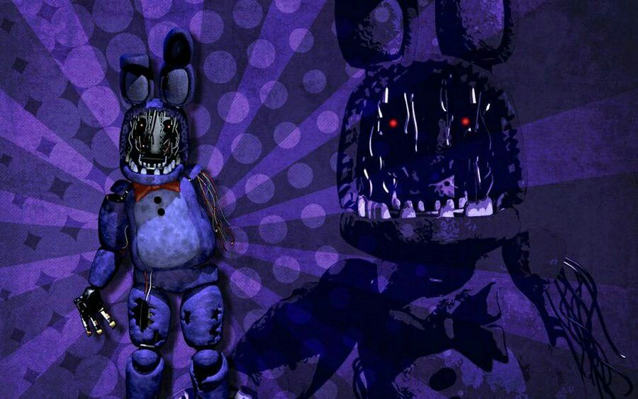 Withered Bonnie Wallpaper Fnaf Art Horror Characters Fnaf Foxy