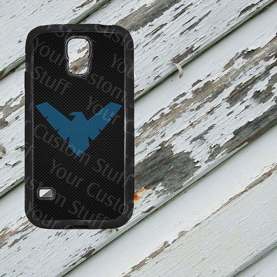 Nightwing Carbon Fiber Design on Samsung Galaxy by EastCoastDyeSub