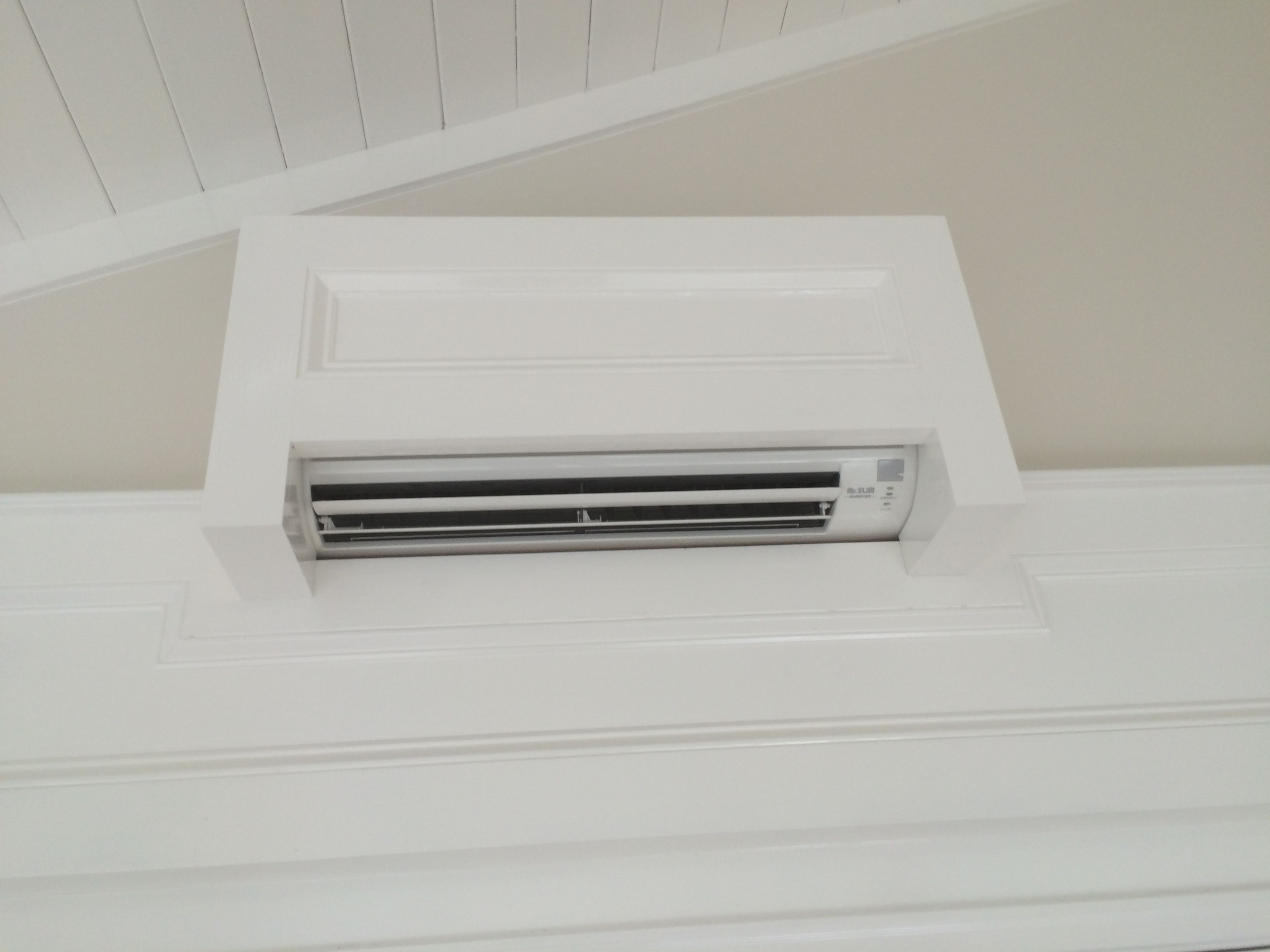 Garage Attic Air Conditioner Concealed Mini Split Pci Home Ideas Air Conditioner Cover