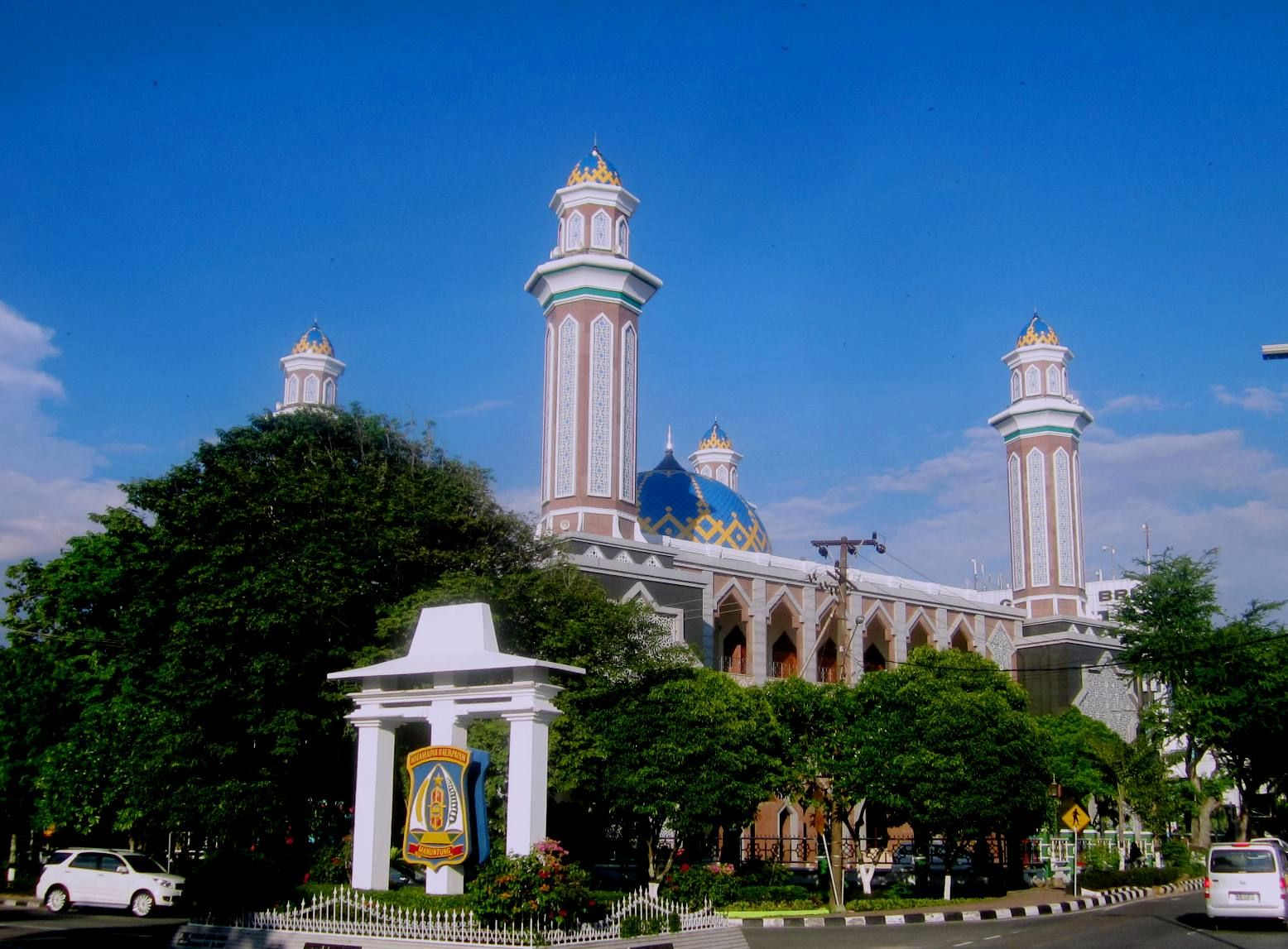 ... Masjid Agung At-Taqwa Kota Balikpapan, Kalimantan Timur, Indonesia