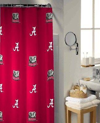 Lantrix Alabama Crimson Tide Shower Curtain