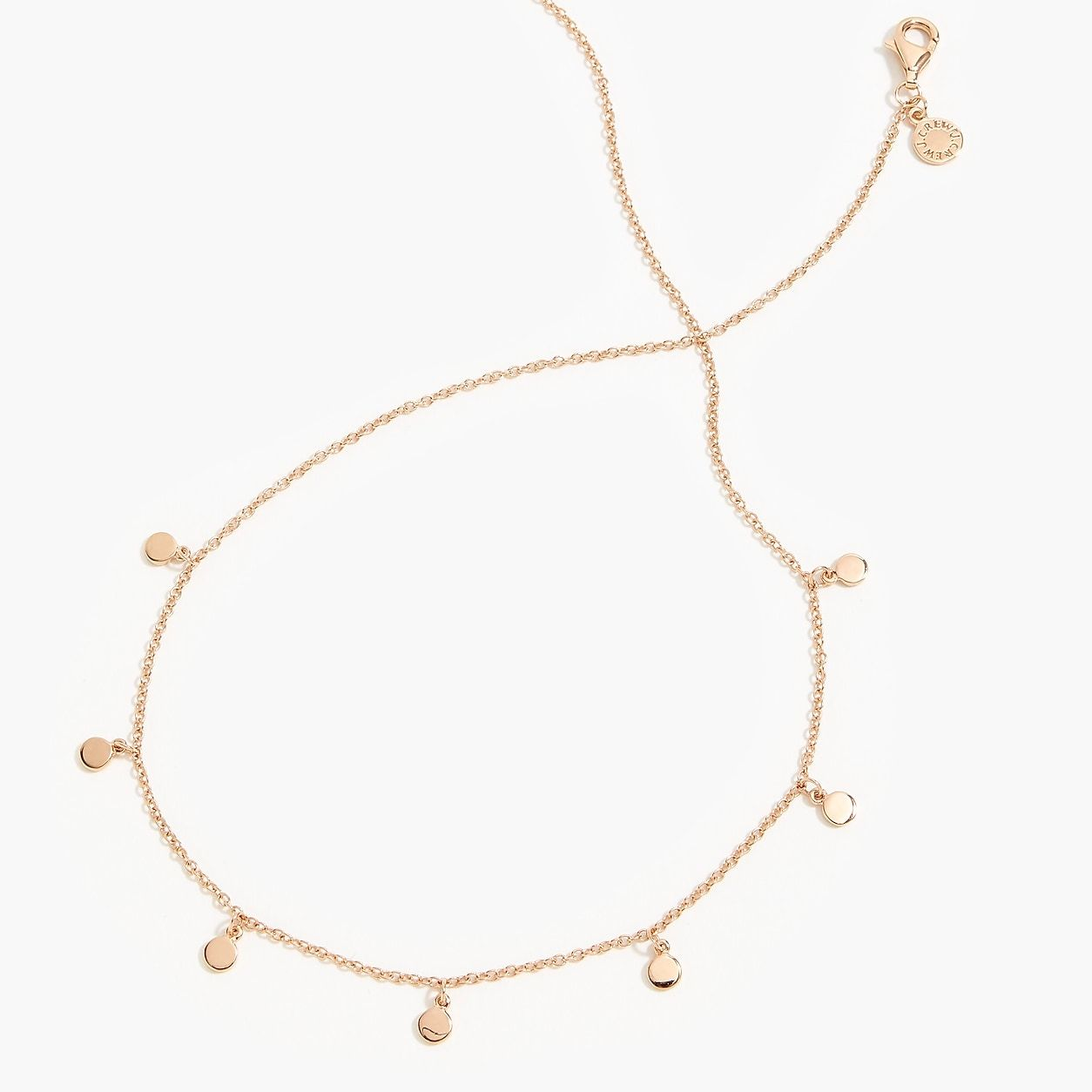 9b6c784960a Demi-Fine 14K Gold-Plated Long Necklace With Dot Charms in 2019 ...