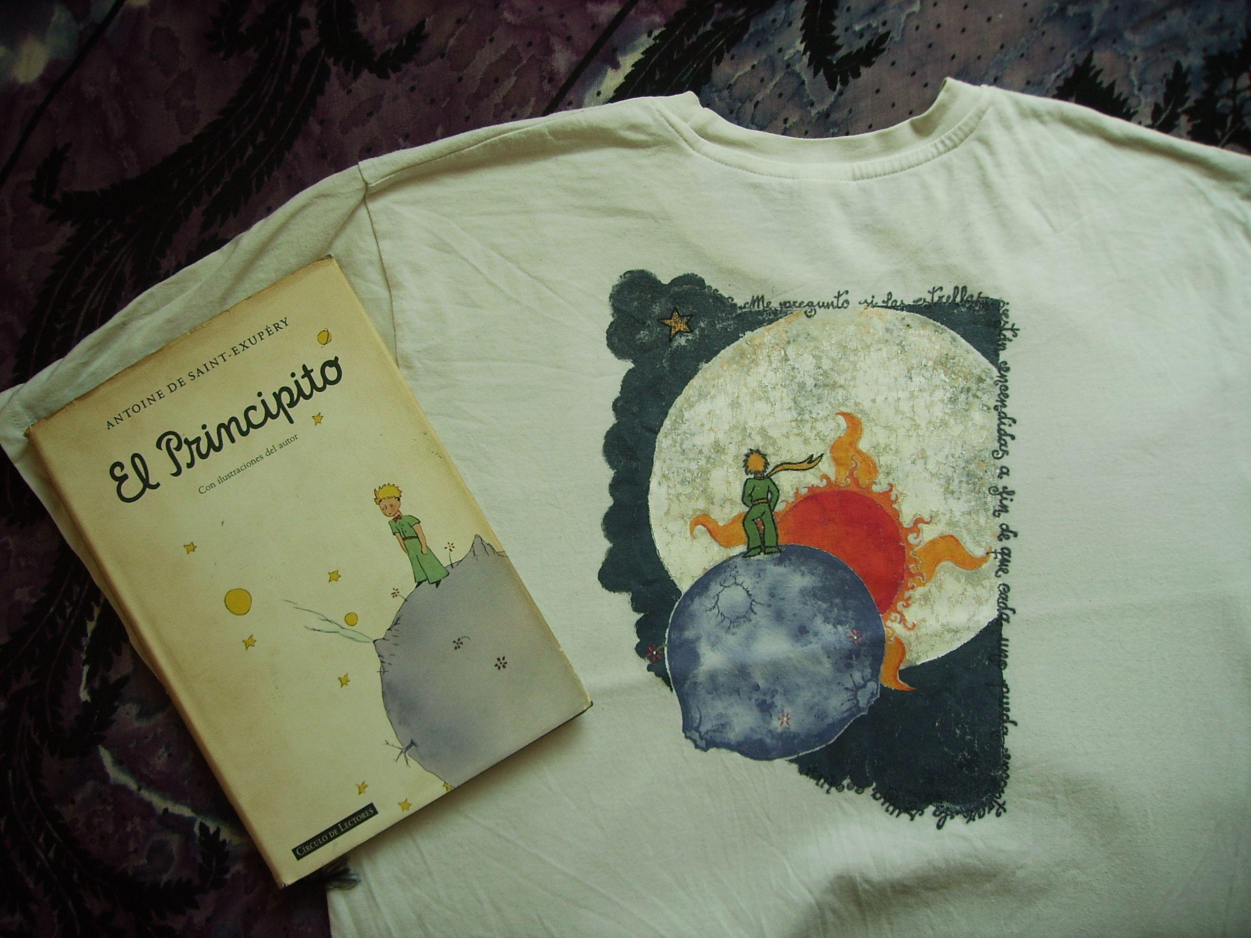 #elprincipito  #pintadoamano #camisetaspintadas #pinturadetela
