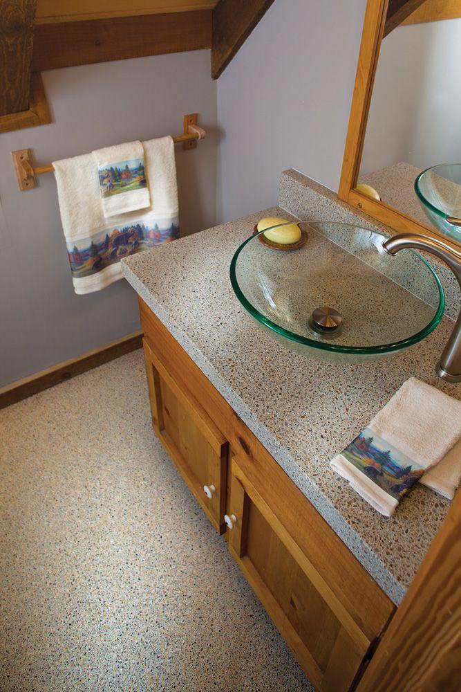 vessels sinks, yes! Bathrooms Pinterest Granite, Glass mosaic