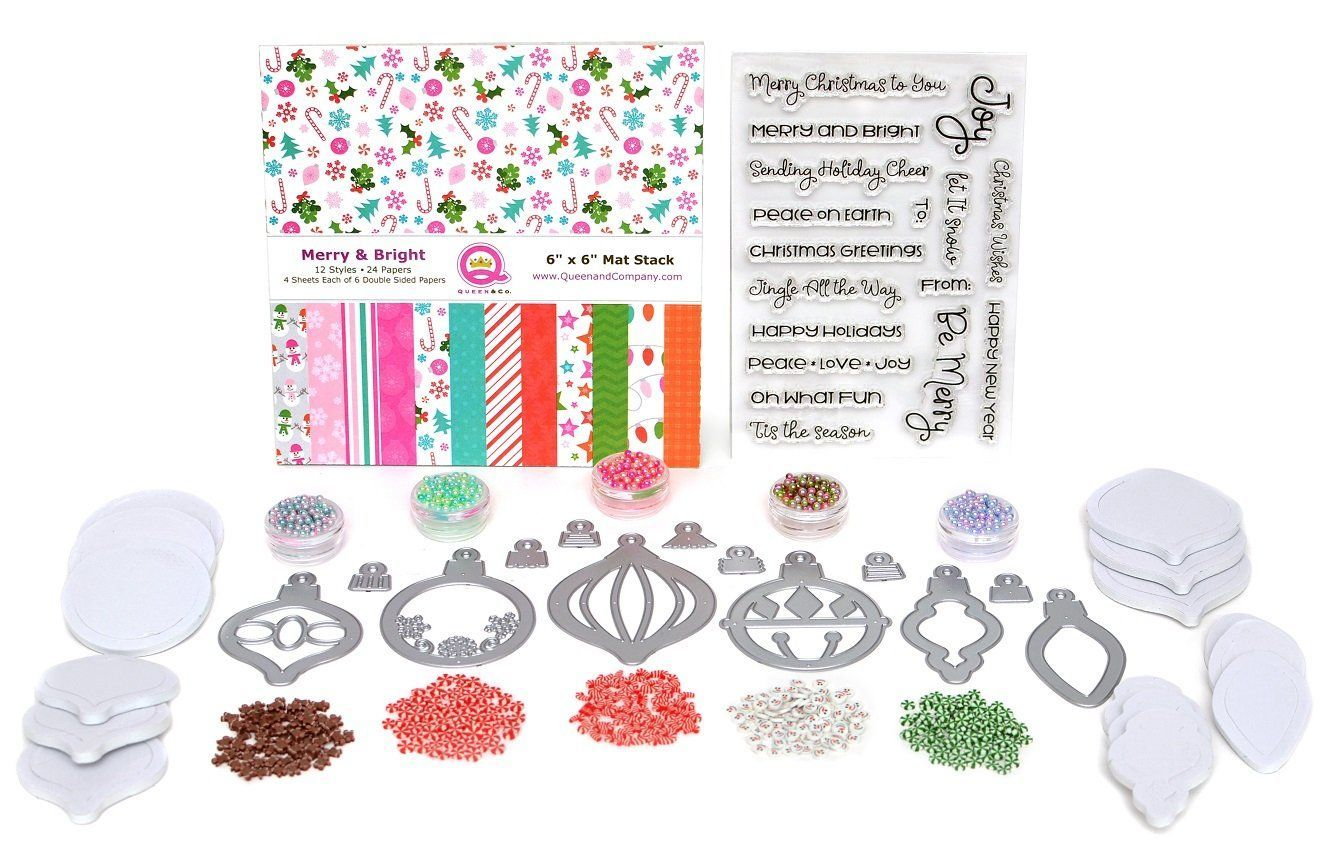 Merry Bright Ornament Kit Pinterest Merry Company Christmas