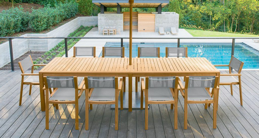 Exterior Popular Teak Outdoor Furniture How To Care For Also Teak
