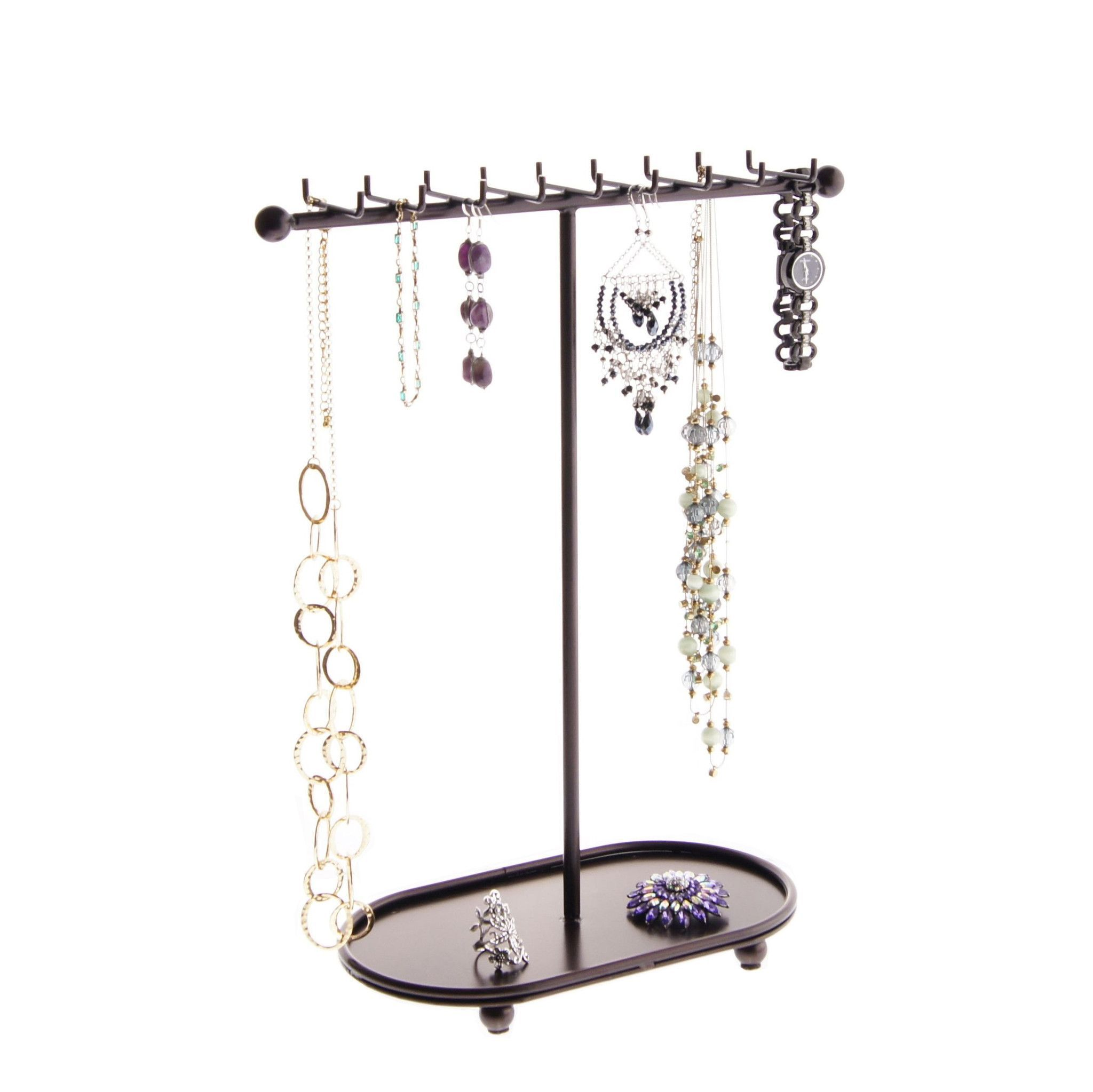 Necklace Holder Organizer Rack