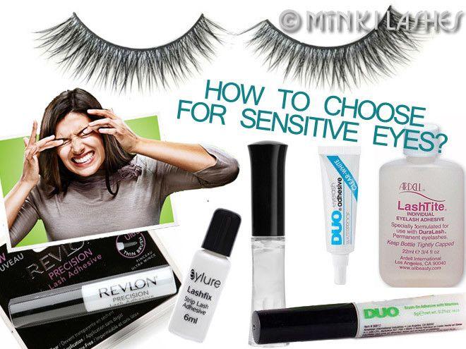 Best False Eyelash Glue For Sensitive Eyes How To Choose Makeup