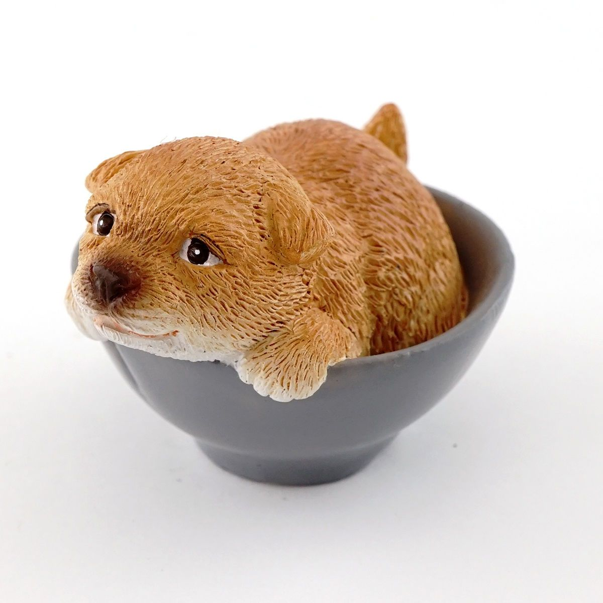 my fairy gardens mini cute puppy in bowl supplies