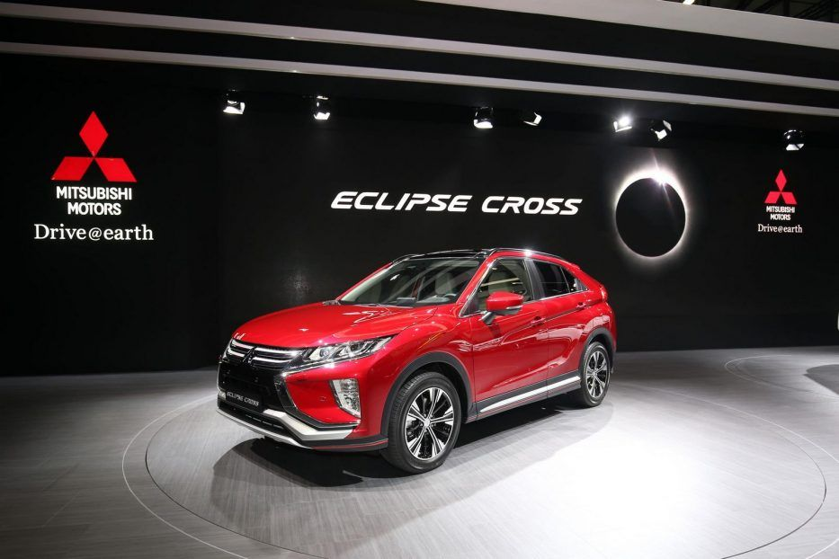 Pin Oleh Future Concept Car Di 2018 Mitsubishi Eclipse Cross